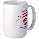 EoS Large Mug with Red & Black Insignia