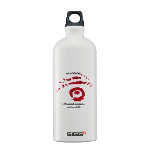 EoS 0.6 Liter Water Bottle with Red & Black Insignia